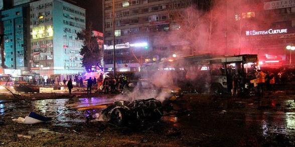 В столице Турции прогремел взрыв – десятки погибших и раненых