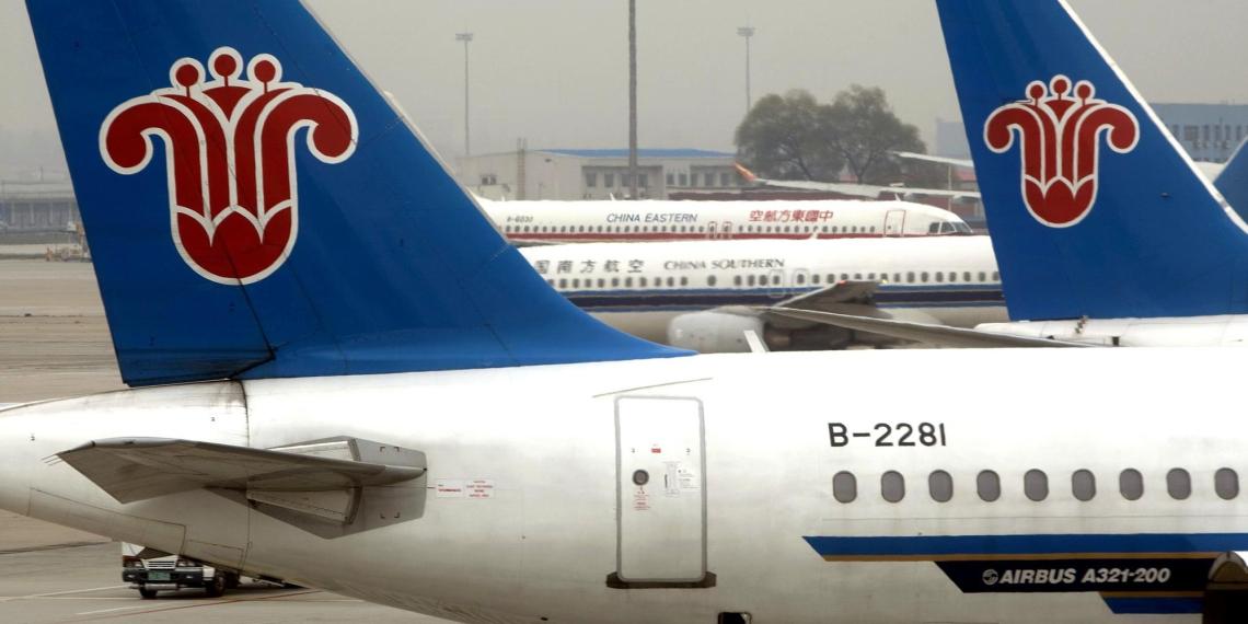 США закрывают небо для китайских авиакомпаний