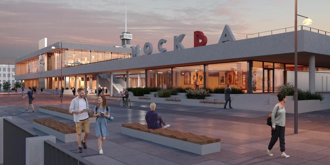 Собянин: Южный речной вокзал будет обновлен уже в следующем году