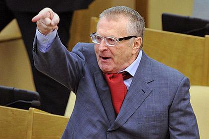 Жириновский через суд доказал, что он не бездельник