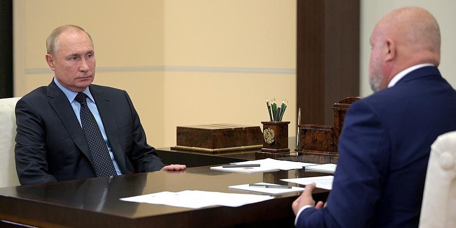 Цивилев предложил Путину построить в Кузбассе два города-миллионника