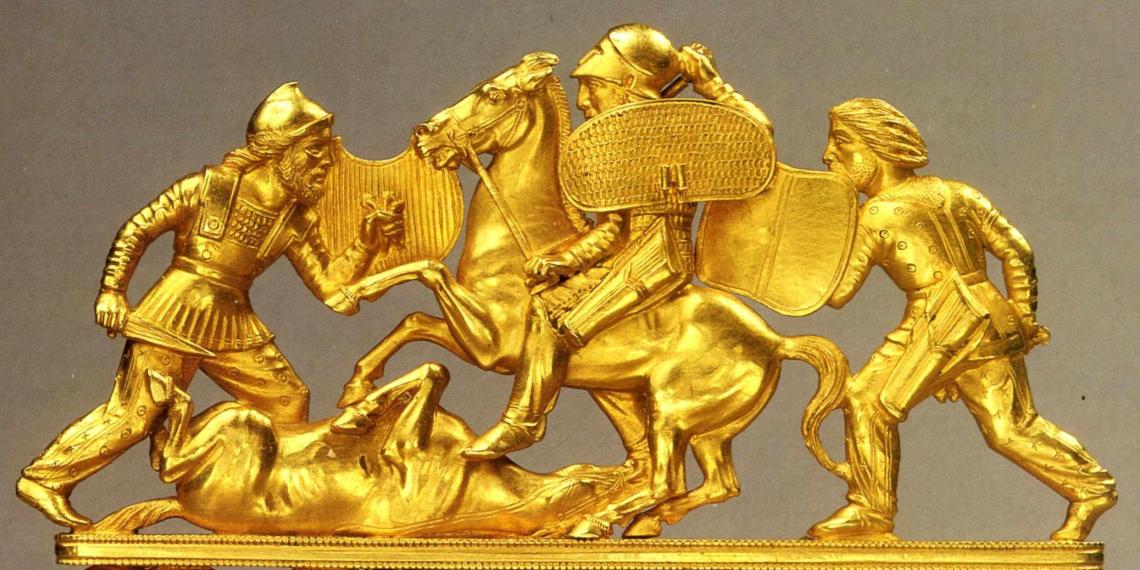 Москва захотела вернуть себе скифское золото