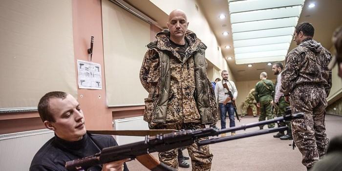 Захар Прилепин уехал воевать на Донбасс в качестве заместителя командира спецназа