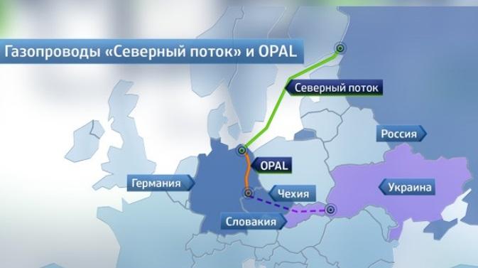 В январе Россия может отказаться от транзита газа в Германию через Украину