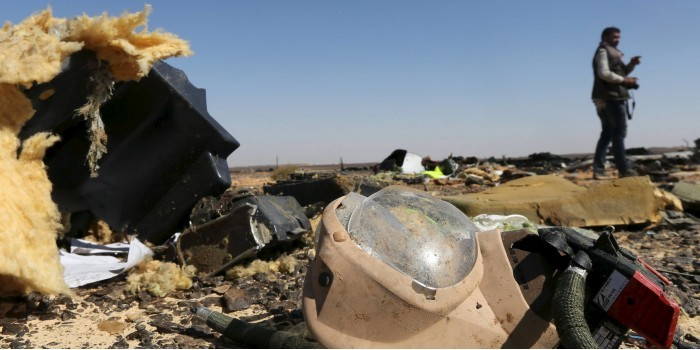 СМИ: следствие на 90% уверено во взрыве бомбы на борту A321