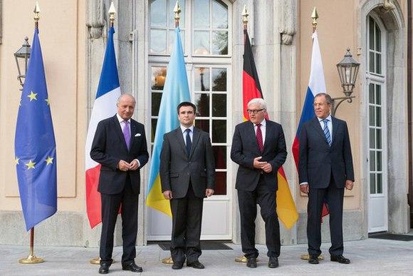Нормандская четверка проведет заседание по Минскому договору до конца недели