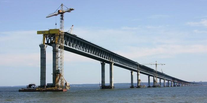 Росавтодор сообщил подробности проекта моста через Керченский пролив