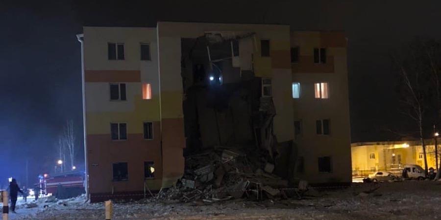 Спасатели завершили разбор завалов дома под Белгородом после взрыва газа
