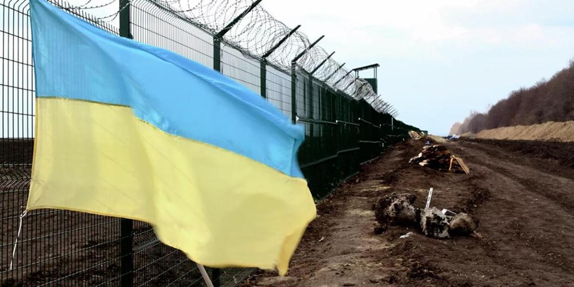 """Украина на 4 года отложила начатый три премьера назад проект """"Стена"""" на границе с РФ"""