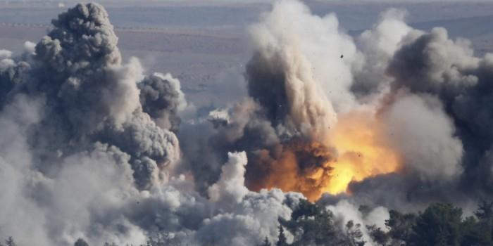 Российские ВКС уничтожили почти тысячу объектов в городе, который штурмует Турция