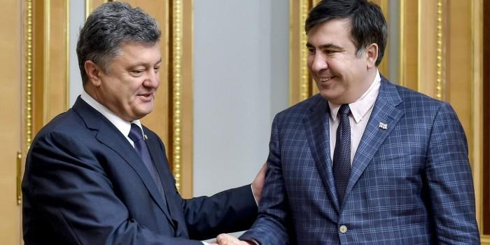 Саакашвили назвал Порошенко главным барыгой Украины