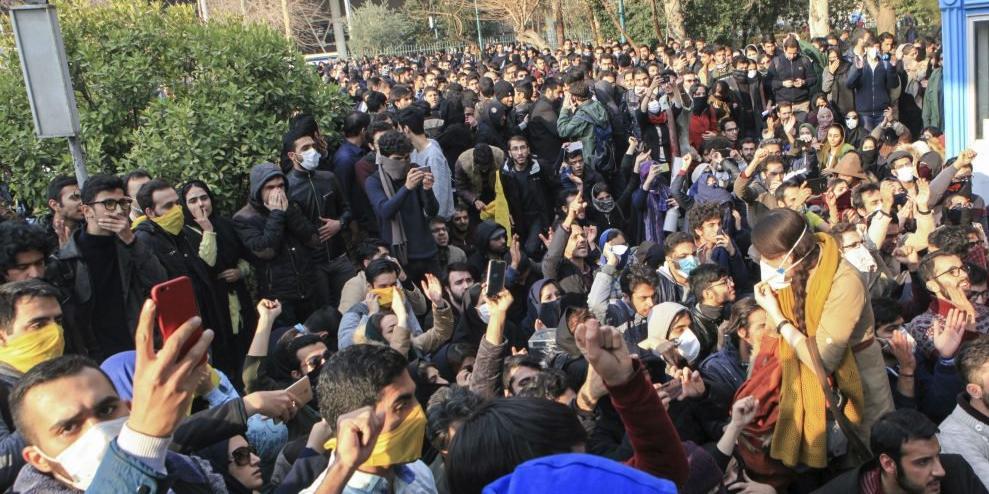 Шевченко объяснил причины протестов в Иране