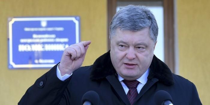 Порошенко пообещал выставить счета ДНР и ЛНР за их блокаду Украиной