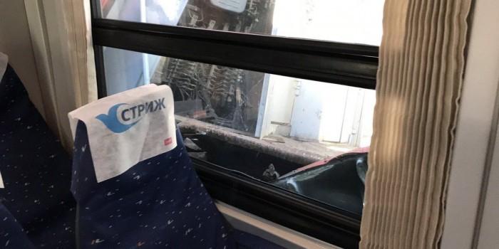 В Москве на Курском вокзале столкнулись два поезда