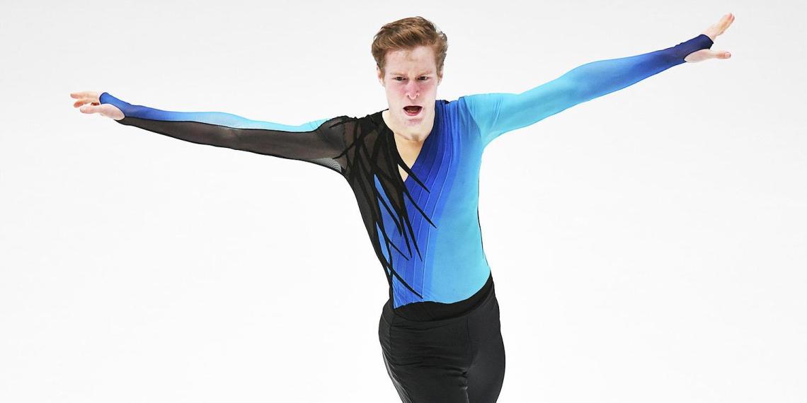 Российский фигурист Самарин взял серебро чемпионата Европы