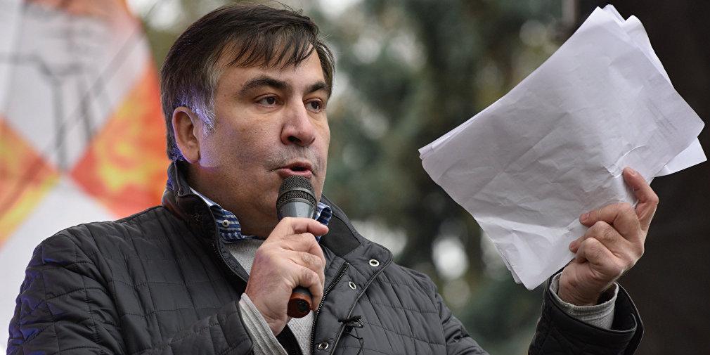 Саакашвили заподозрили в попытке государственного переворота на Украине