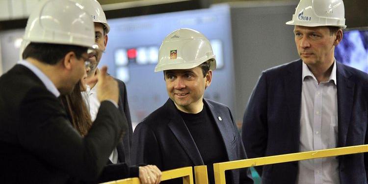 Глава Заполярья посетил Верхне-Туломскую ГЭС