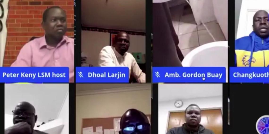 Африканский дипломат во время видеоконференции сходил в туалет в прямом эфире