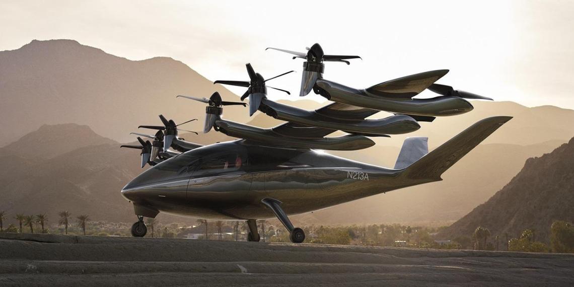 """В США планируют начать производить """"летающие такси"""" к 2023 году"""