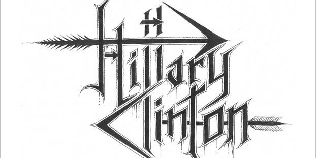 Логотипы кандидатов в президенты США оформили в стиле блэк-метал