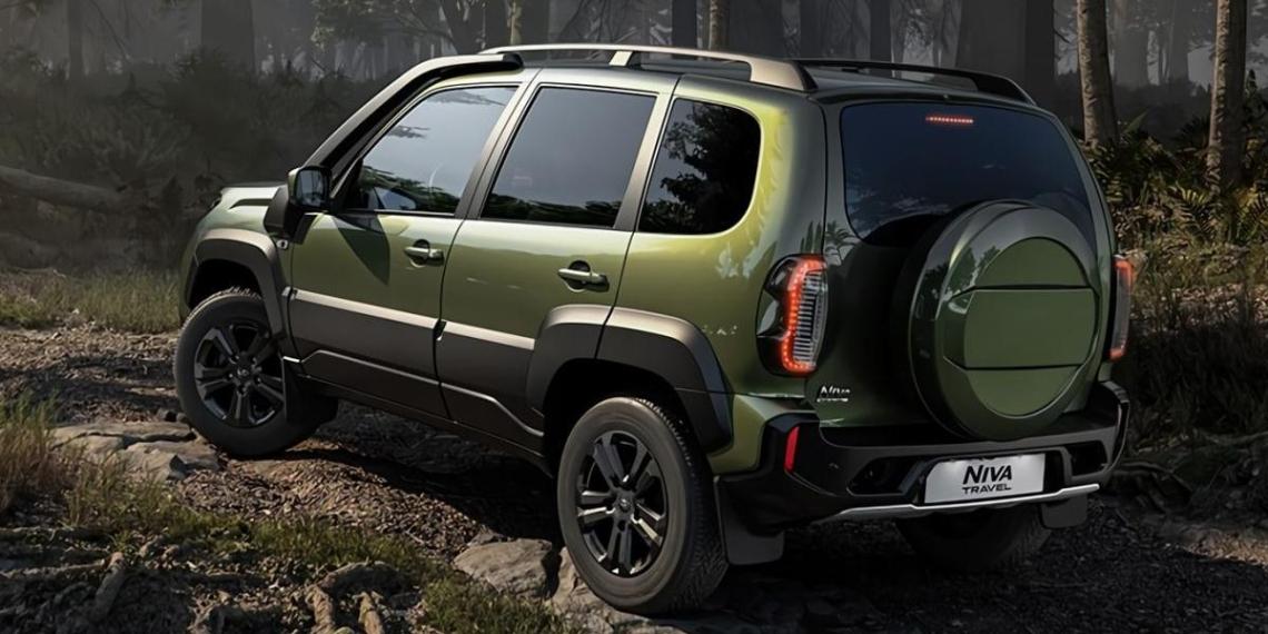 В России начали продавать новую Lada Niva Travel