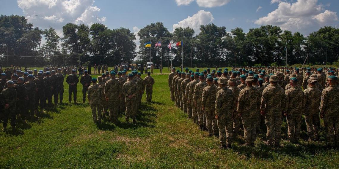 Американские и украинские морпехи провели тактические тренировки вблизи российской границы