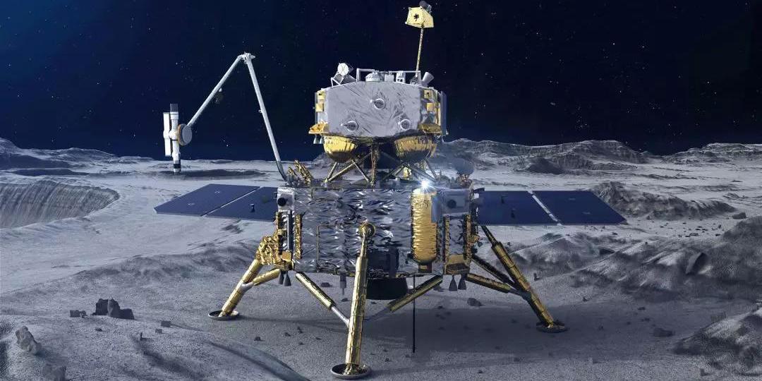 """Взлетный модуль китайской миссии """"Чанъэ-5"""" разбился на Луне"""