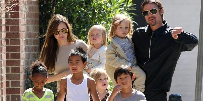 Брэд Питт отказался от опеки над всеми детьми в пользу Джоли