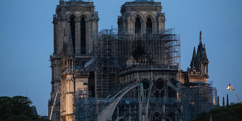 Нотр-Дам не получил ни цента от обещавших помочь с ремонтом французских миллионеров