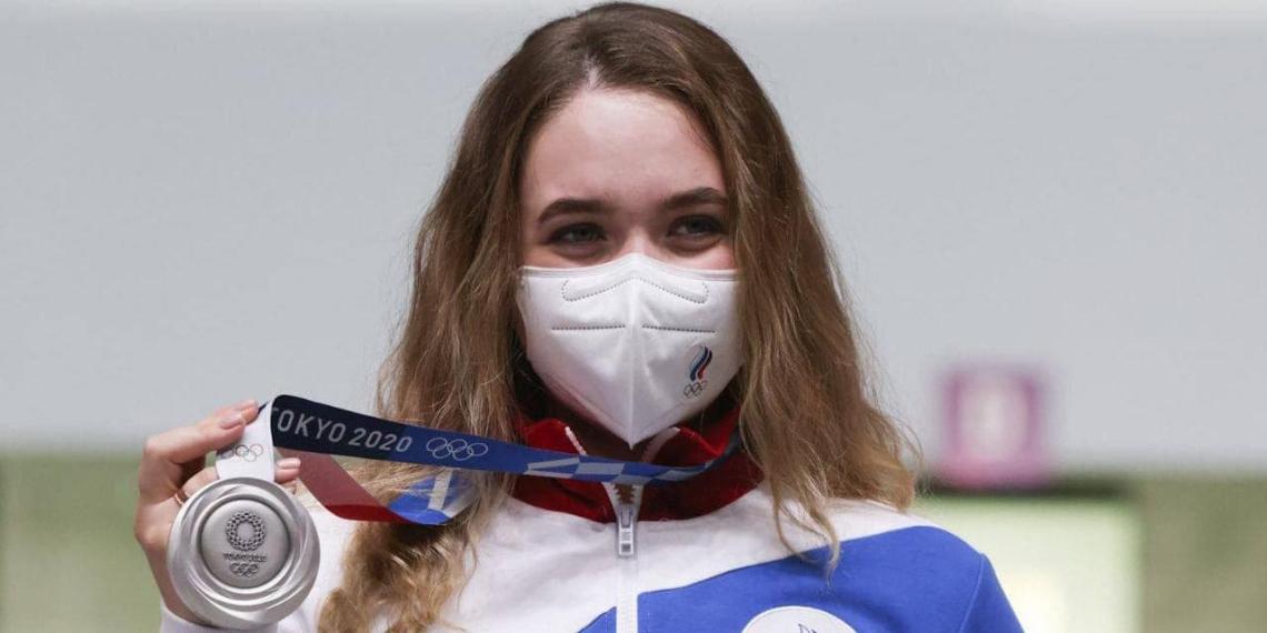 Россия завоевала первую медаль на Олимпиаде