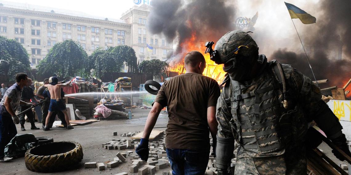 На Украине рассказали о предательстве ЕС после госпереворота в 2014 году