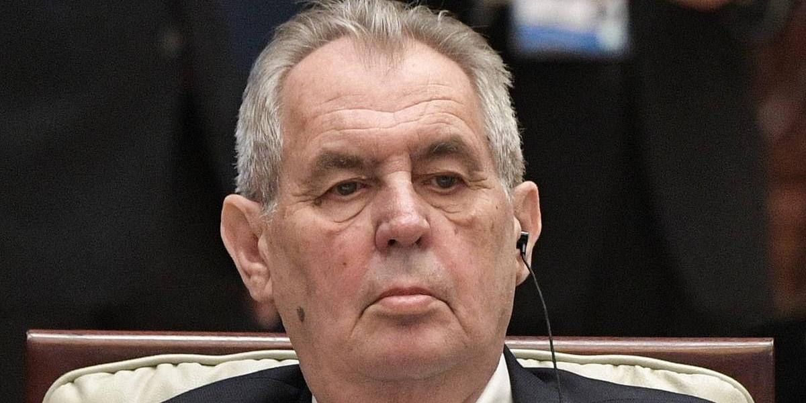 Президент Чехии извинился перед сербами за бомбардировки Югославии
