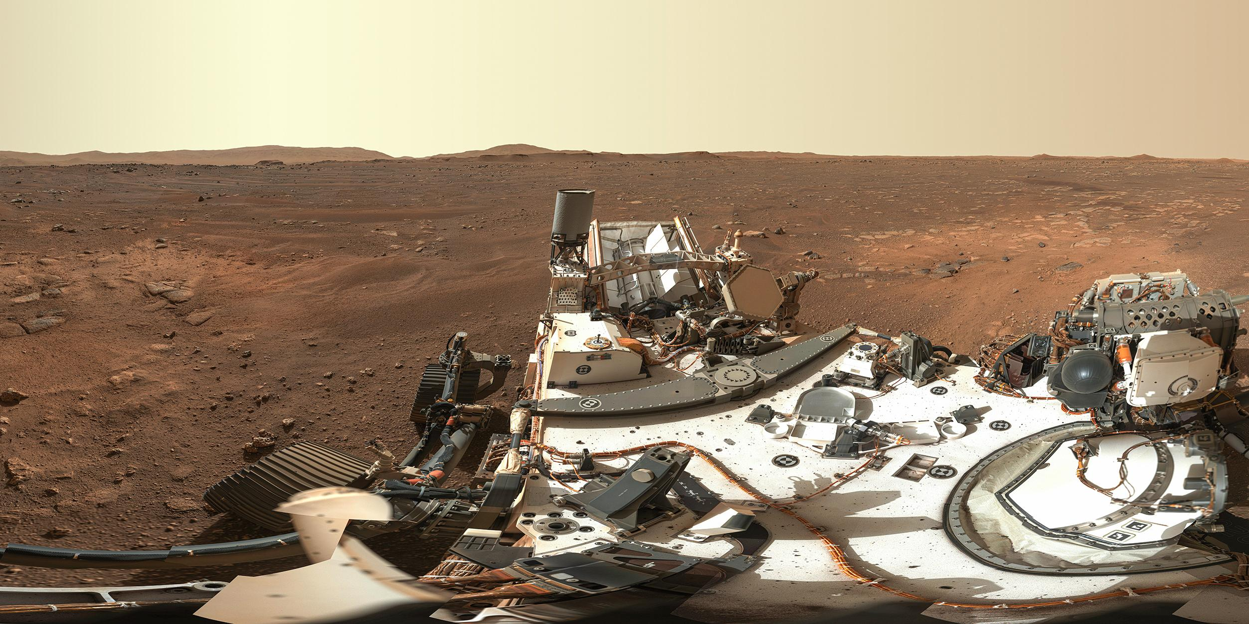NASA опубликовало первую панораму Марса и более 6000 фото с Perseverance