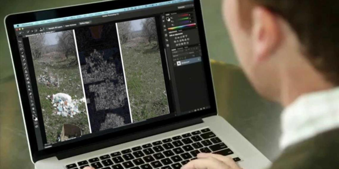 Саратовский чиновник отчитался об уборке мусора с помощью фотошопа