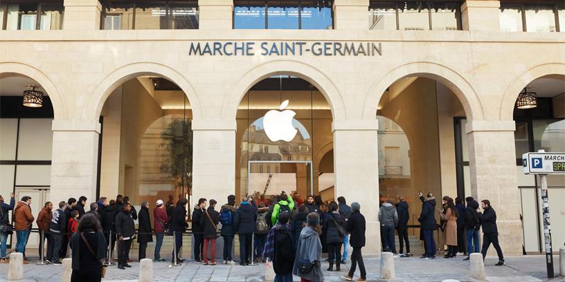 Apple оштрафована на €1,1 млрд во Франции