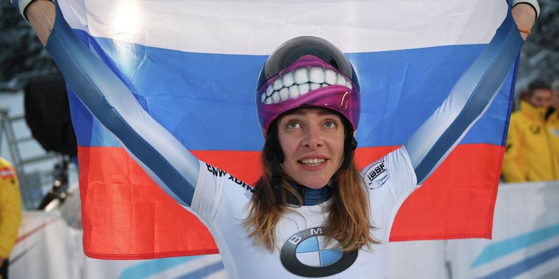 Никитина выиграла этап Кубка мира по скелетону в Германии