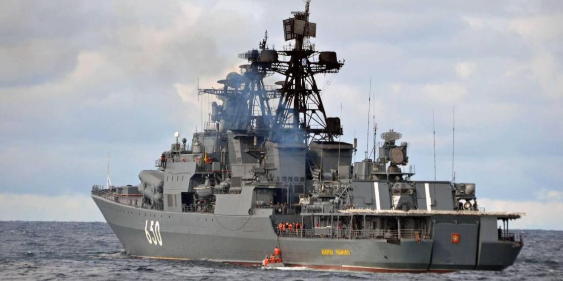 Фрегат ВМФ России переделают в мини-крейсер