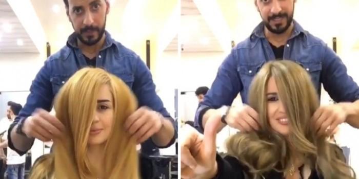 """Девушке в салоне покрасили волосы с помощью сгущенки и """"Нутеллы"""""""