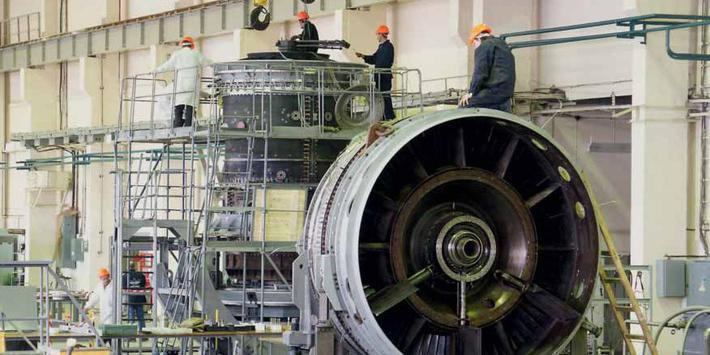 В России остановили испытания газовой турбины большой мощности