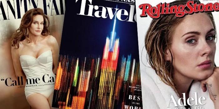 Time опубликовал 10 лучших журнальных обложек 2015 года