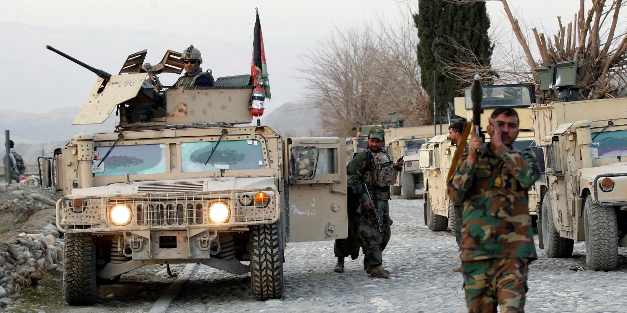 Власти Афганистана требуют от США выйти из страны, оставив технику и оружие