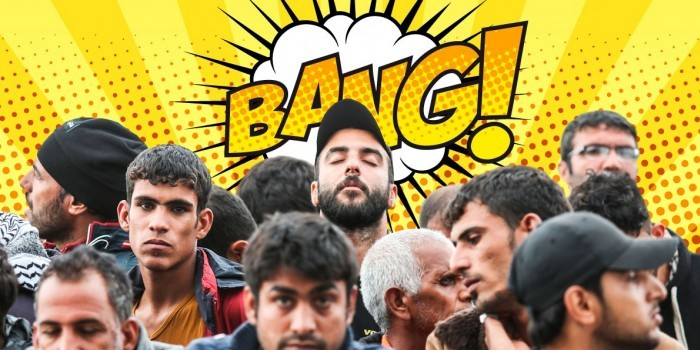 Эрдоган на цепи и бессердечные чиновники: кризис беженцев в западных карикатурах