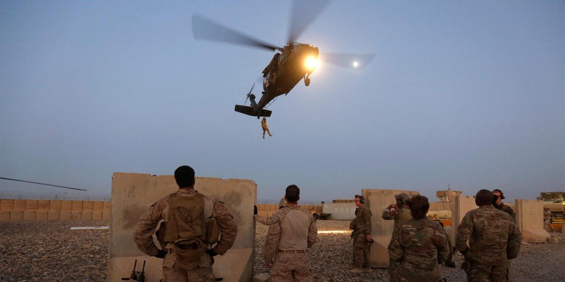 США после подписания мирного договора с талибами нанесли по ним авиаудар