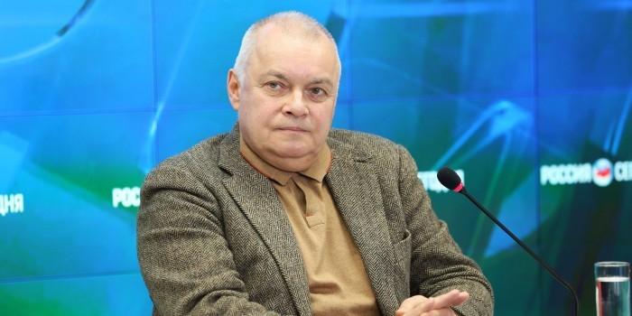 Украинские журналисты сообщили о напугавшем Дмитрия Киселева телефонном пранке