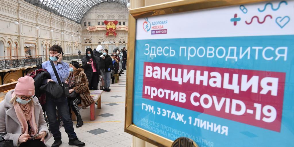 Пункты вакцинации заработают еще в двух московских ТЦ