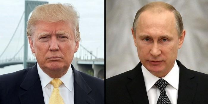 СМИ назвали дату первого разговора Трампа с Путиным
