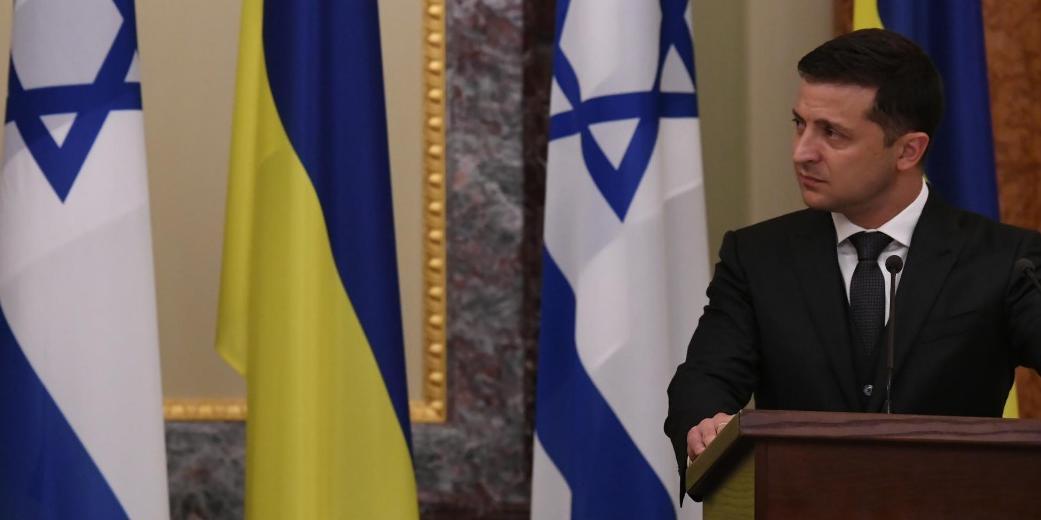 Зеленский передумал участвовать во Всемирном форуме памяти холокоста