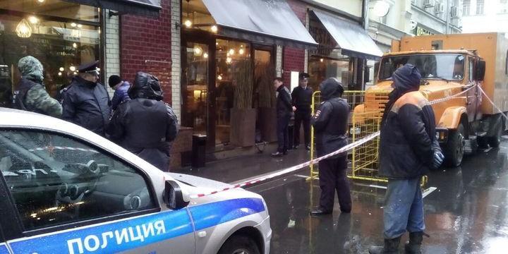 Опубликовано видео расстрела украинского бизнесмена в центре Москвы
