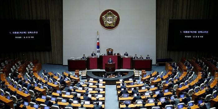 Южнокорейские депутаты будут добиваться размещения в стране ядерного оружия США