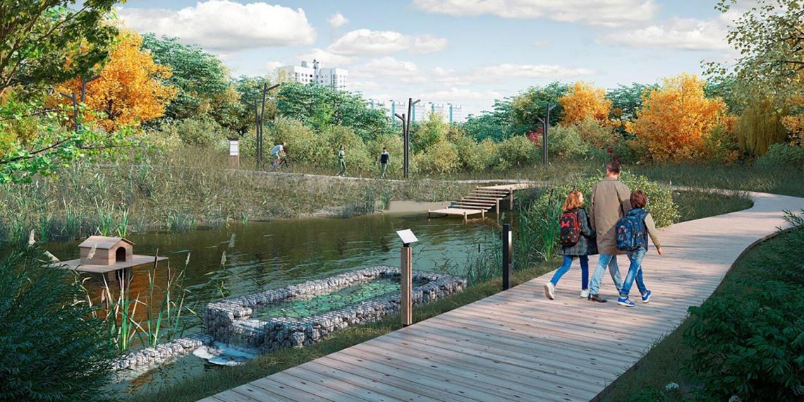 """Собянин показал, как будет выглядеть парк """"Яуза"""" после благоустройства"""